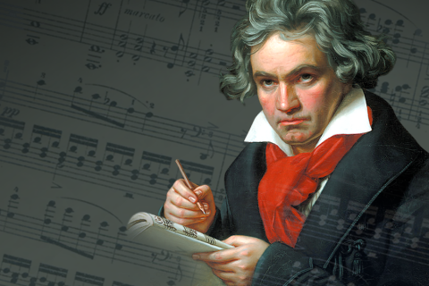 MASTERPIECES OF GREAT COMPOSERS. Ludwig Van Beethoven